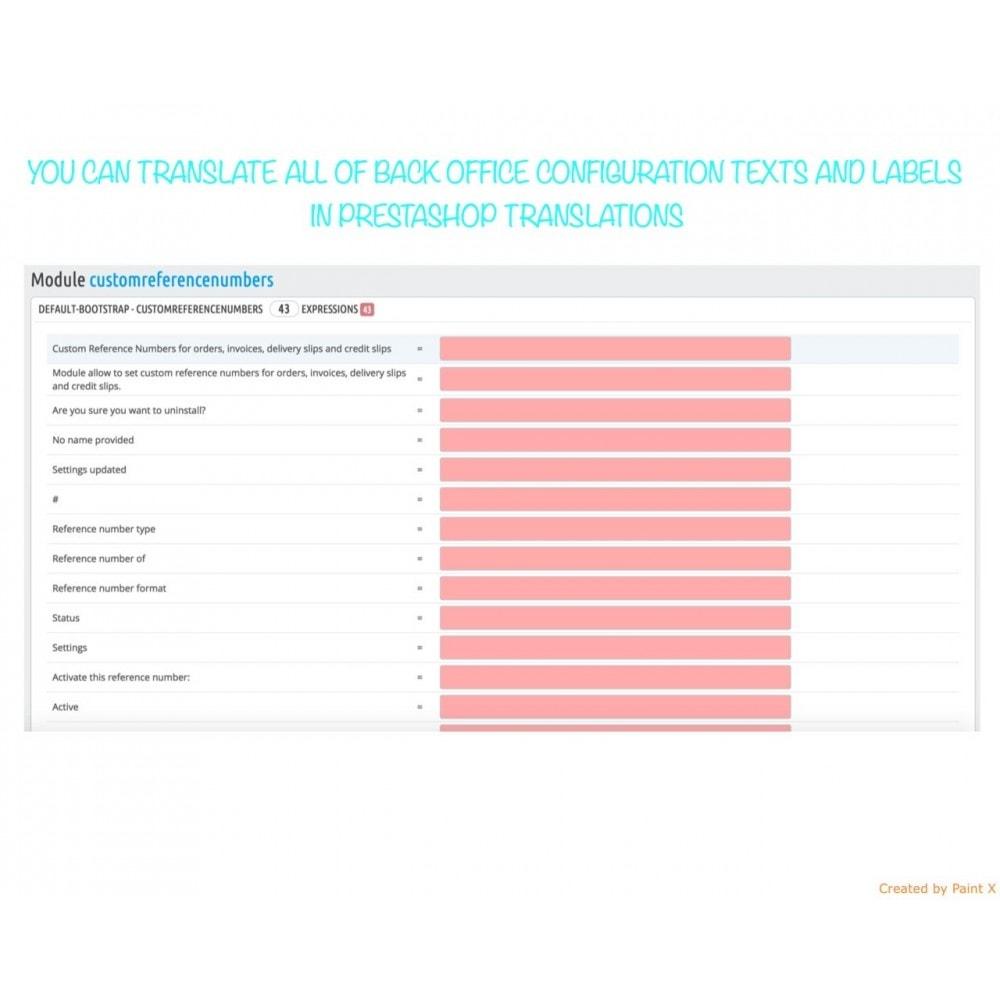 module - Buchhaltung & Rechnung - Nr. für Bestellung, Faktur, Lieferbeleg und Gutschrift - 9