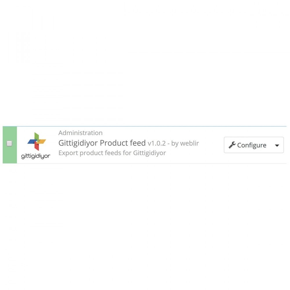 module - Marketplaces - Gittigidiyor Product feed - 3