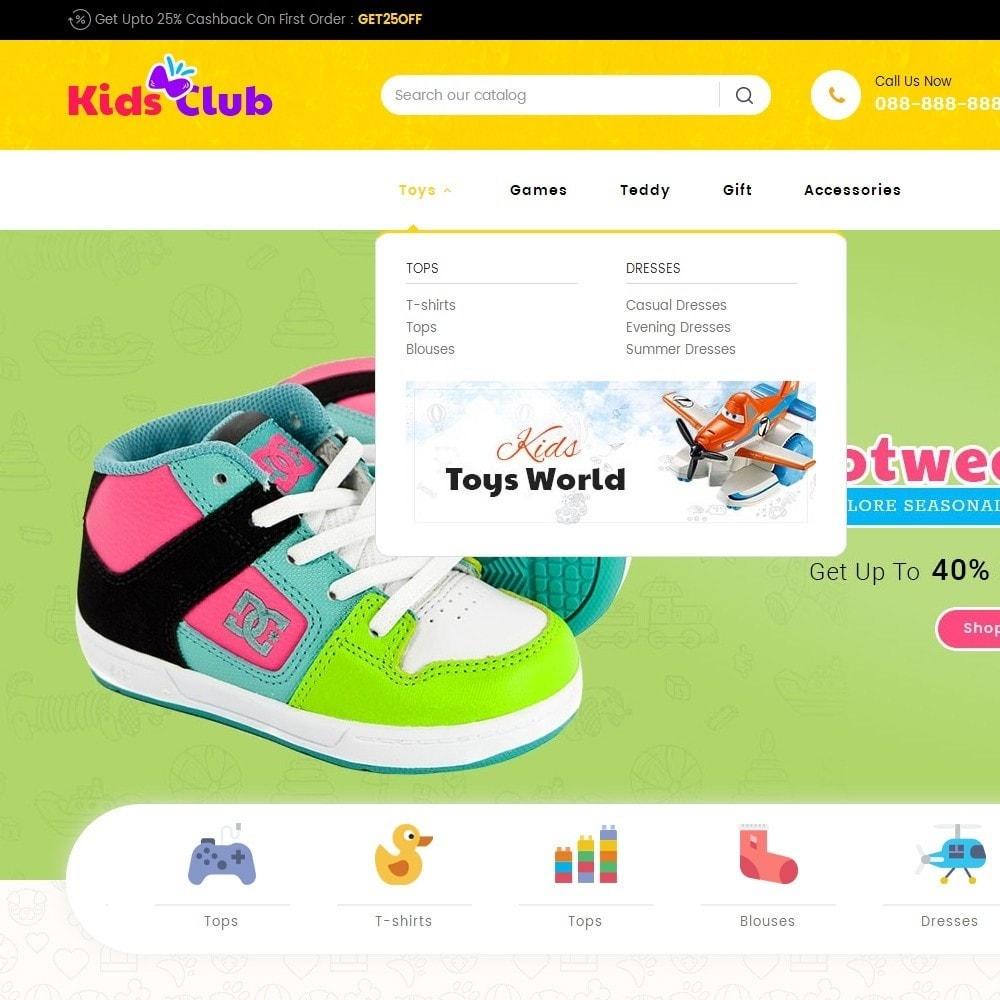 theme - Дети и Игрушки - Kids Toy Club - 9