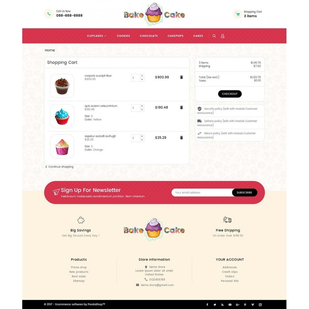theme - Eten & Restaurant - Cake Shop - 6