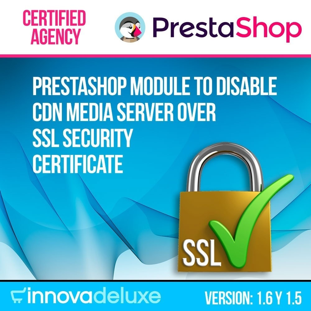 module - Veiligheid & Toegang - Disable CDN media server over SSL security certificate - 1