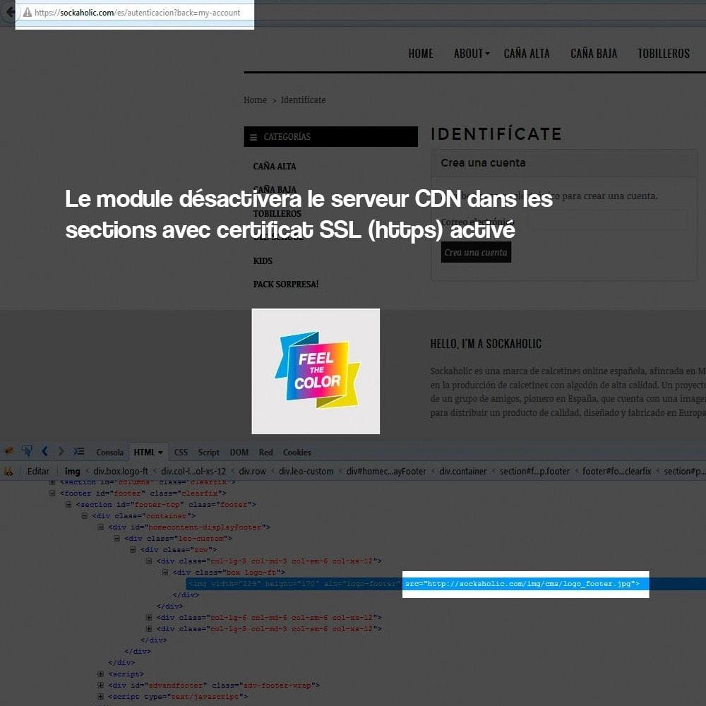 module - Sécurité & Accès - Désactivation de serveurs de médias CDN sur SSL - 5