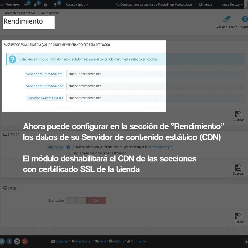 module - Seguridad y Accesos - Desactivación de servidores de medios CDN sobre SSL - 4
