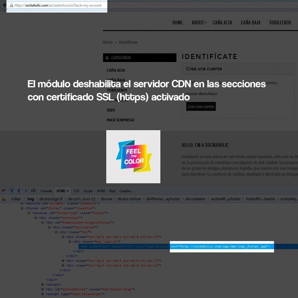 module - Seguridad y Accesos - Desactivación de servidores de medios CDN sobre SSL - 5