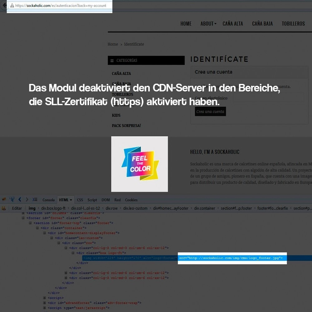 module - Sicherheit & Brechtigungen - Desaktivieren von Medienservern CDN über SSL - 5