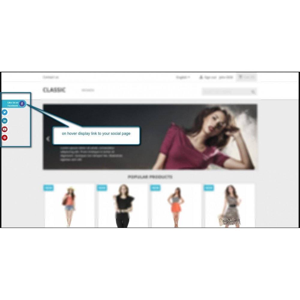 module - Compartir contenidos y Comentarios - Stick Social Networks - 2