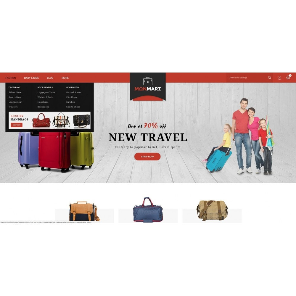 theme - Fashion & Shoes - MonMart Bag Store - 6