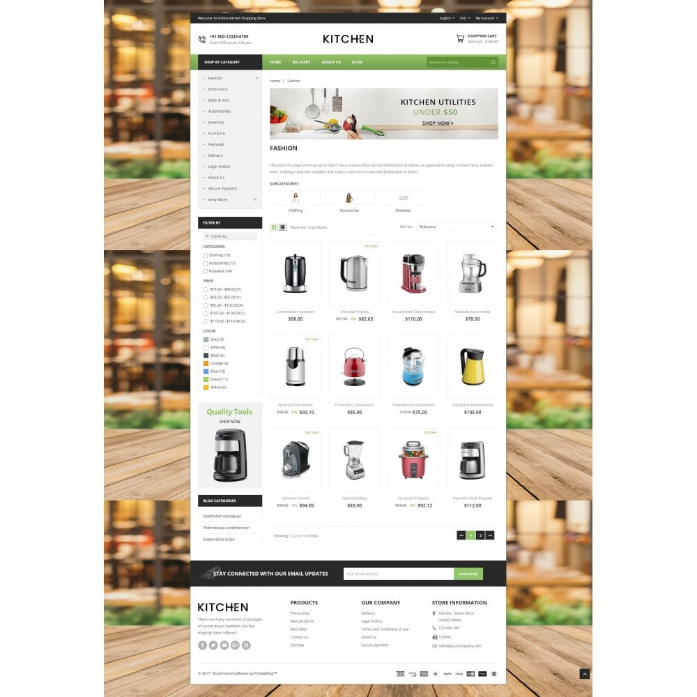 theme - Дом и сад - Online Kitchen Store - 3