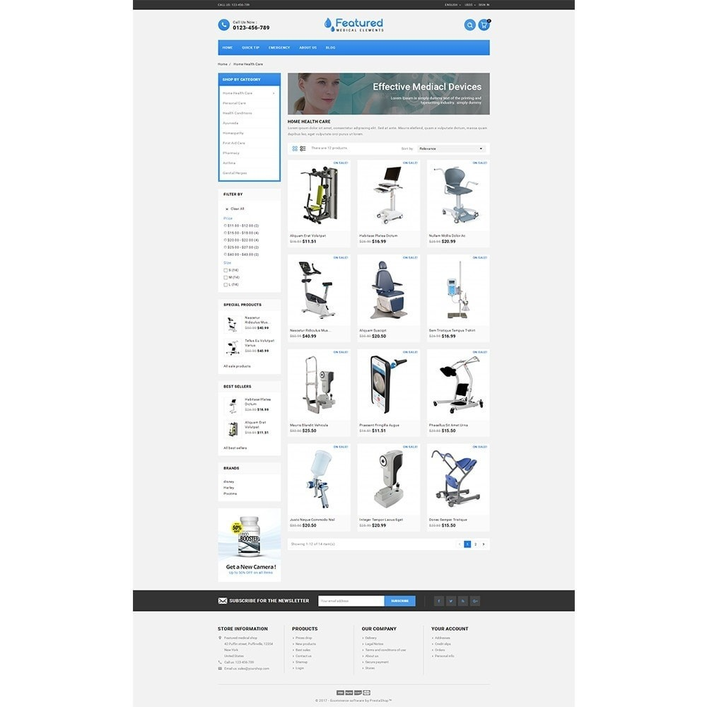 theme - Salute & Bellezza - Featured store - 3
