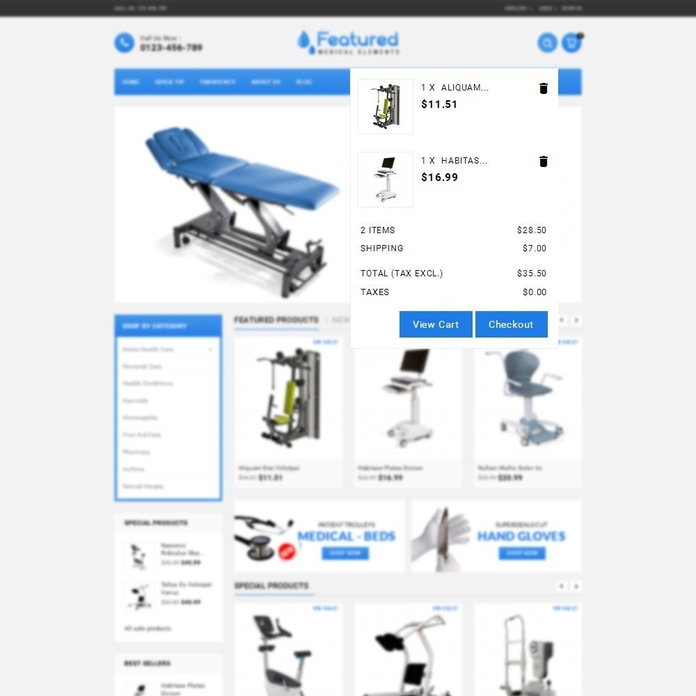 theme - Salute & Bellezza - Featured store - 8