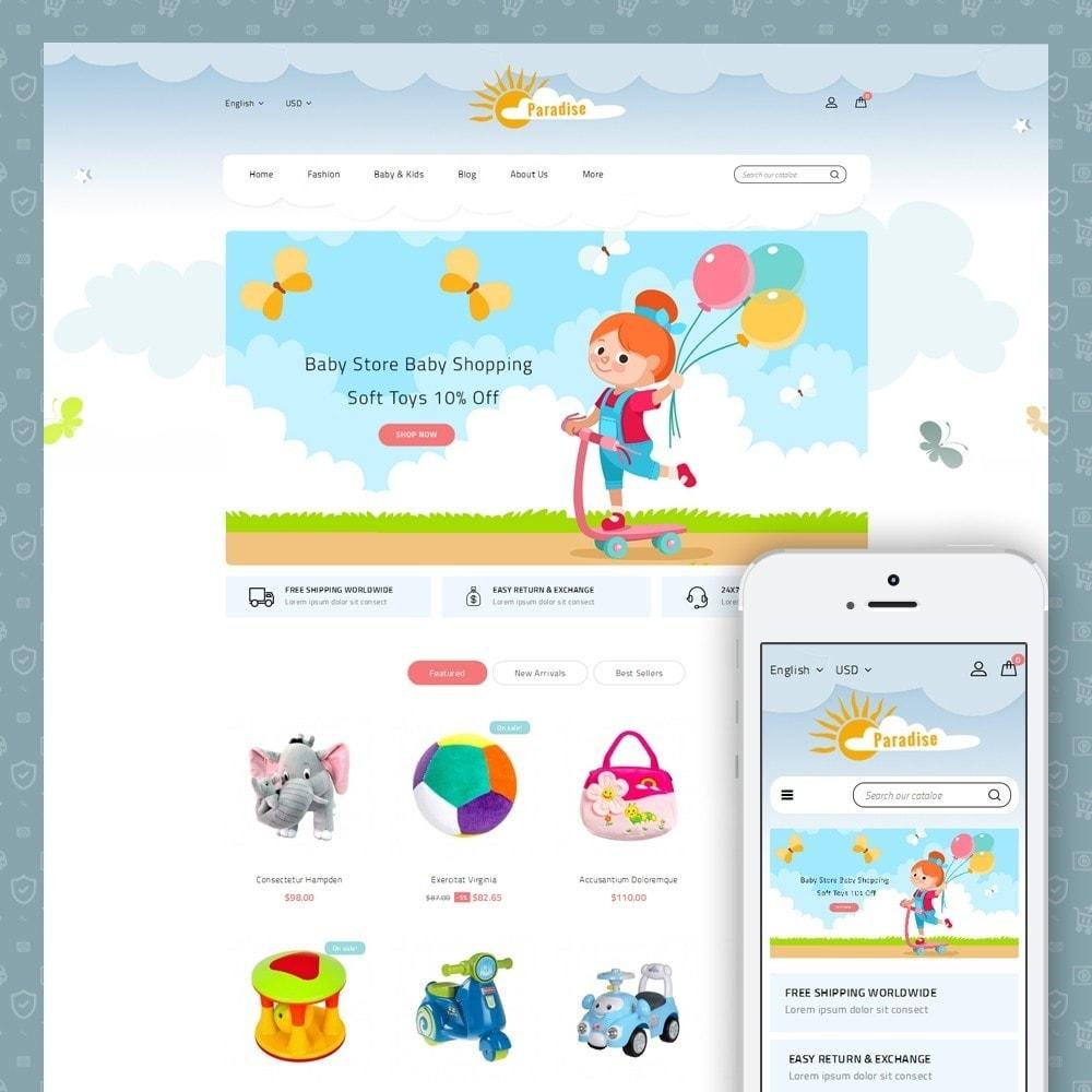 theme - Crianças & Brinquedos - Paradise Toys Store - 1
