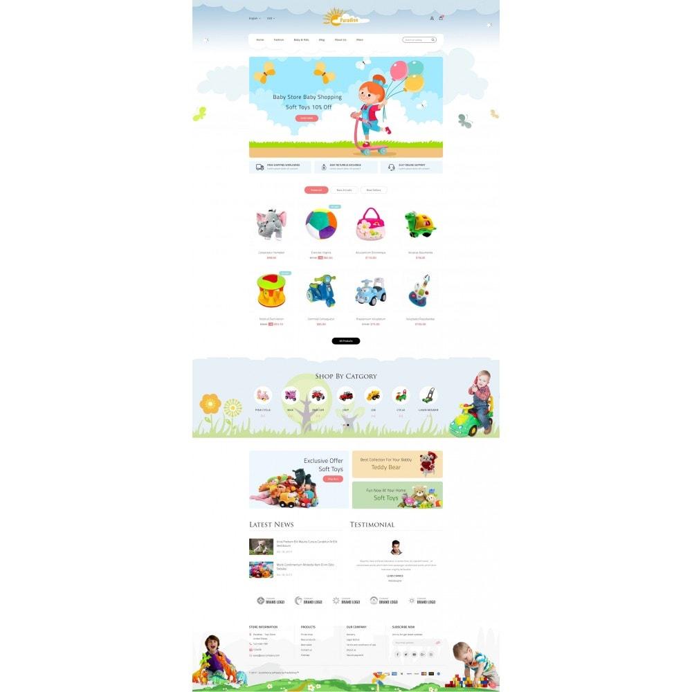 theme - Crianças & Brinquedos - Paradise Toys Store - 2