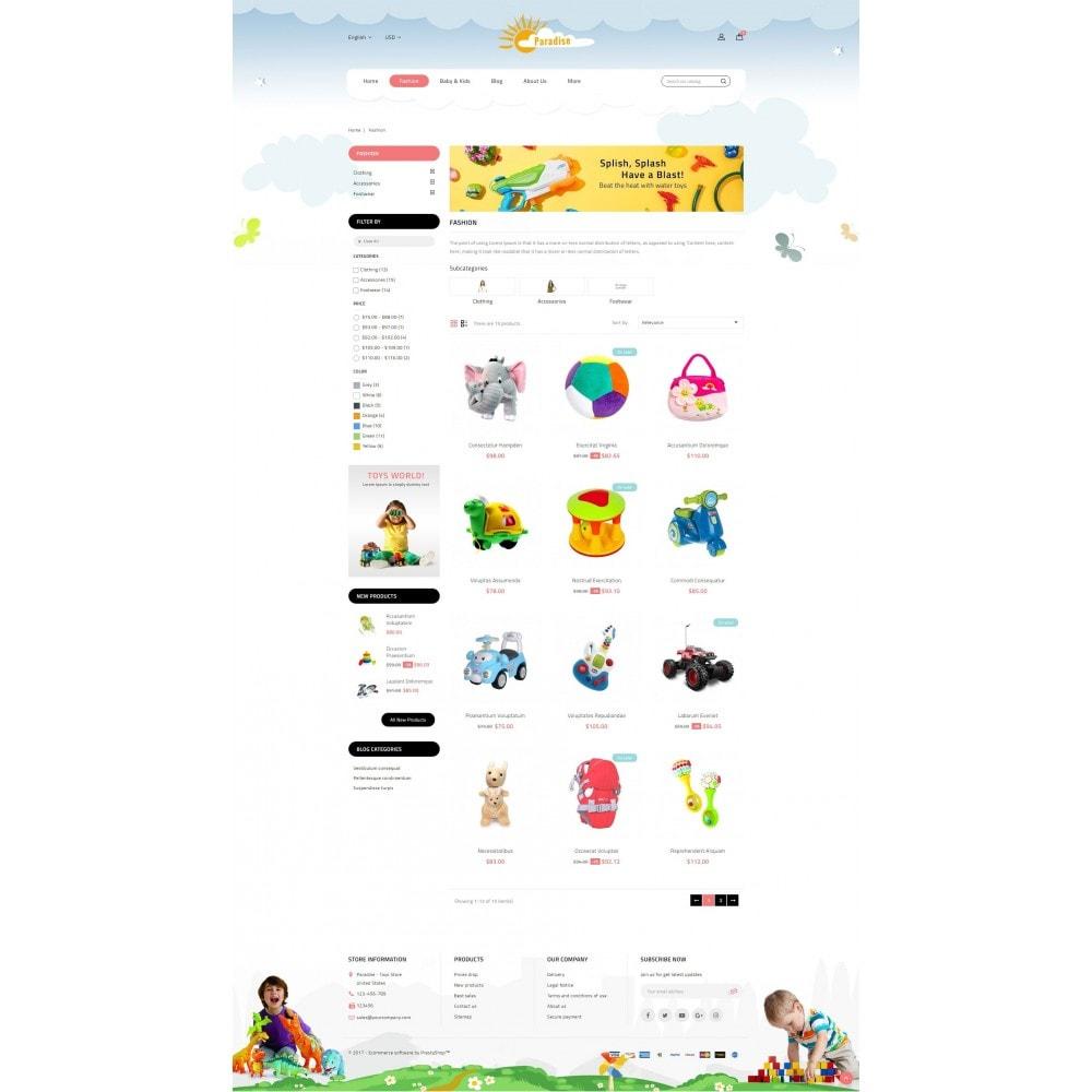 theme - Enfants & Jouets - Paradise Toys Store - 3