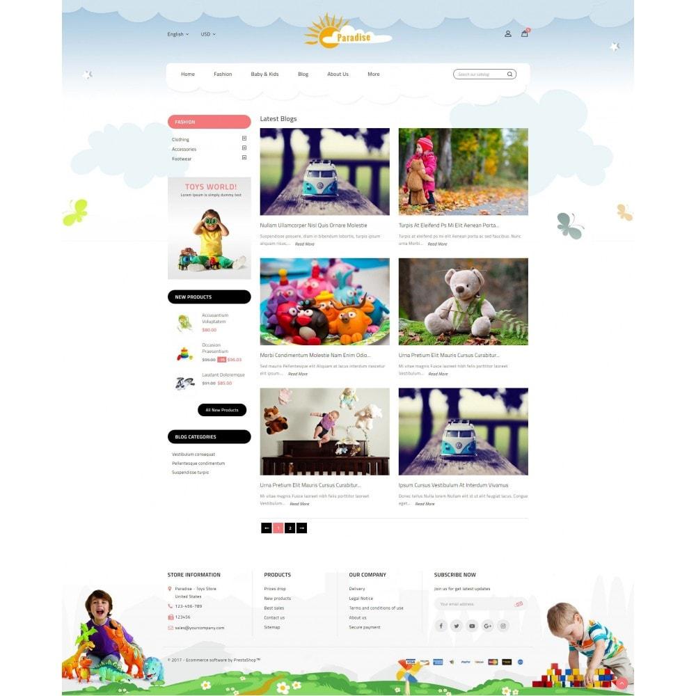 theme - Niños y Juguetes - Paradise Toys Store - 9