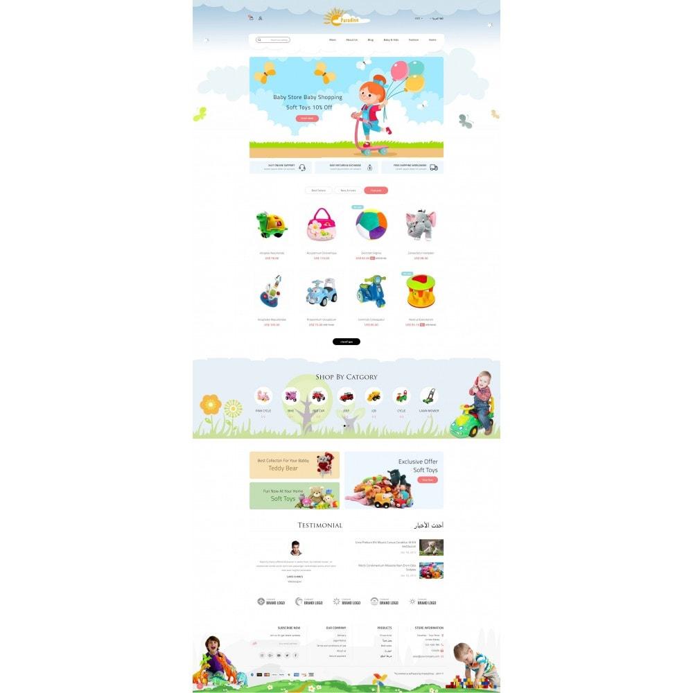 theme - Niños y Juguetes - Paradise Toys Store - 10