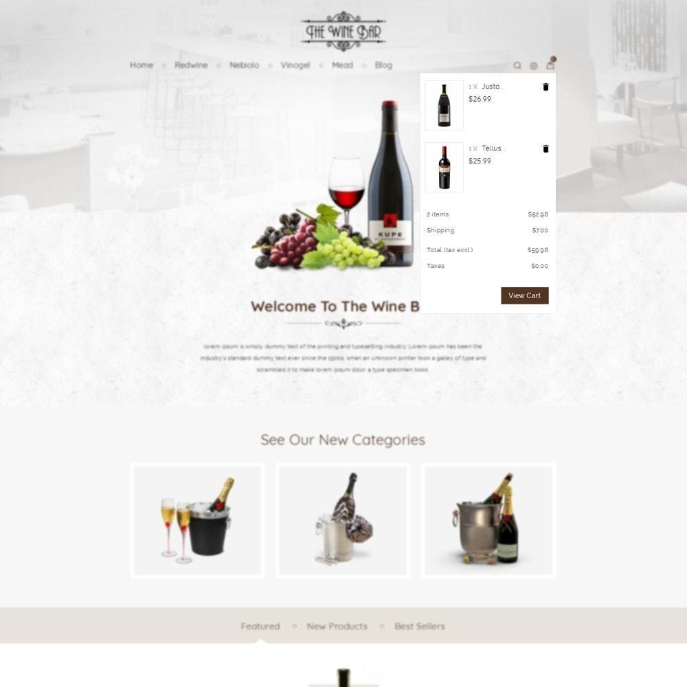 theme - Napoje & Wyroby tytoniowe - Winebar WIne Store - 4