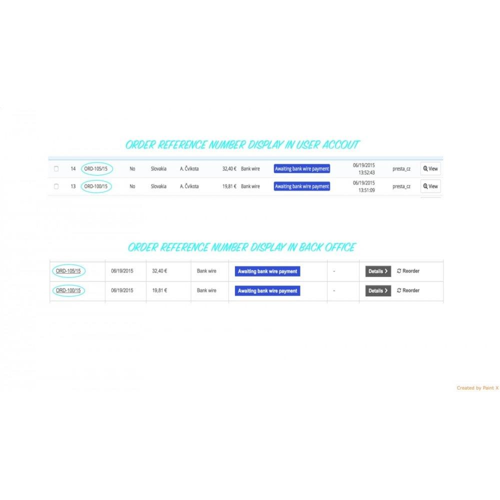 module - Gestione Ordini - Impostazioni avanzate di formato e numero dell'ordine - 6