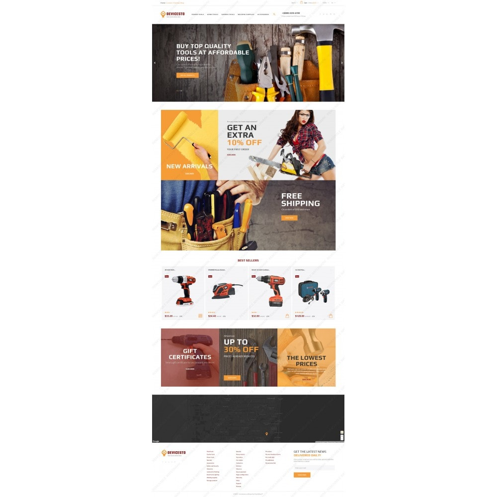 theme - Casa & Jardins - Devicesto - Tools and Supplies Store - 5