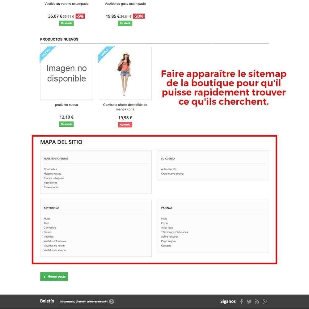 module - URL & Redirections - Personnalisation de la page d'erreur 404 - 4