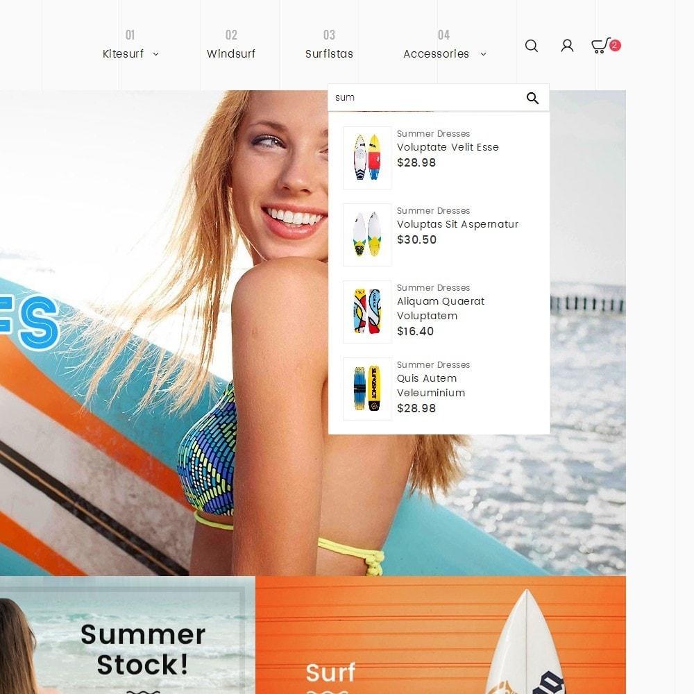theme - Sport, Activiteiten & Reizen - Surf Summer Beach - 9