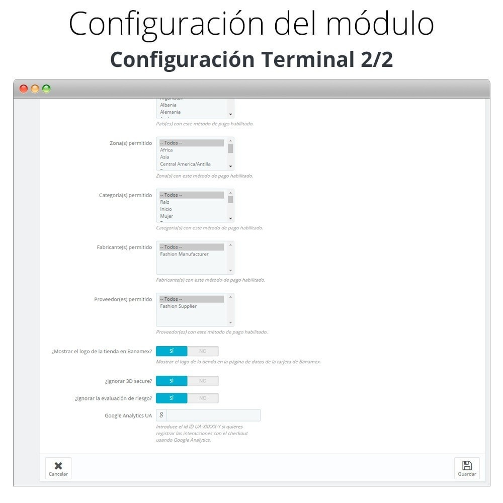 module - Payment by Card or Wallet - Banamex card payment - 4