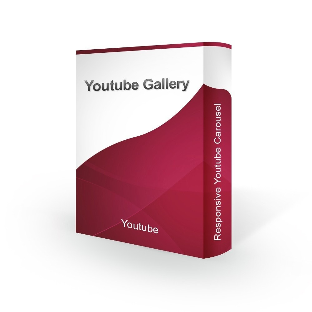 module - Слайдеров (карусельных) и галерей - Advanced Youtube Video Slider & Gallery - 1