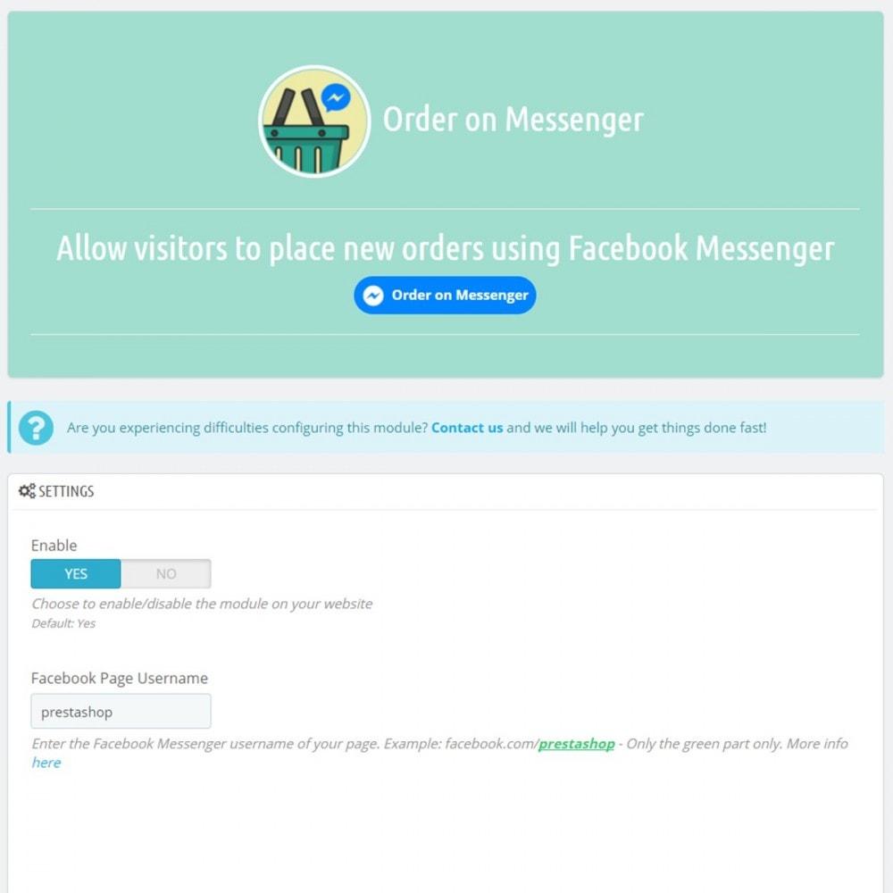 module - Gestion des Commandes - Order on Messenger - 3