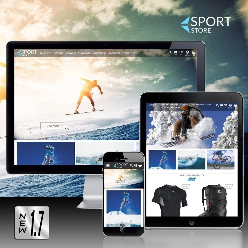 theme - Sport, Loisirs & Voyage - Sport Store - 1