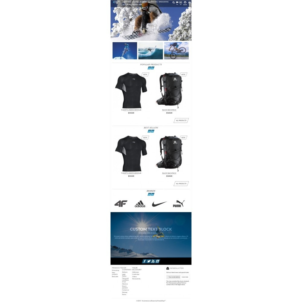 theme - Sport, Loisirs & Voyage - Sport Store - 5
