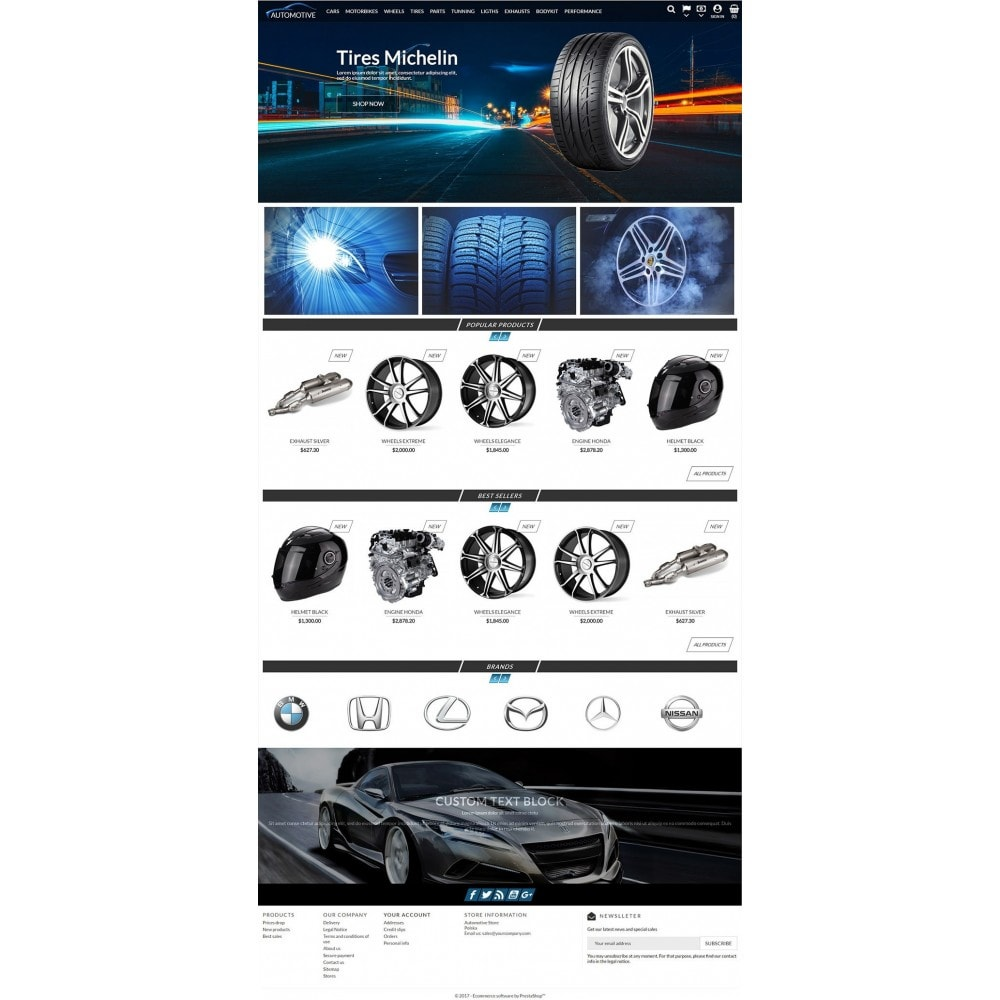 theme - Automotive & Cars - Automotive Store - 2
