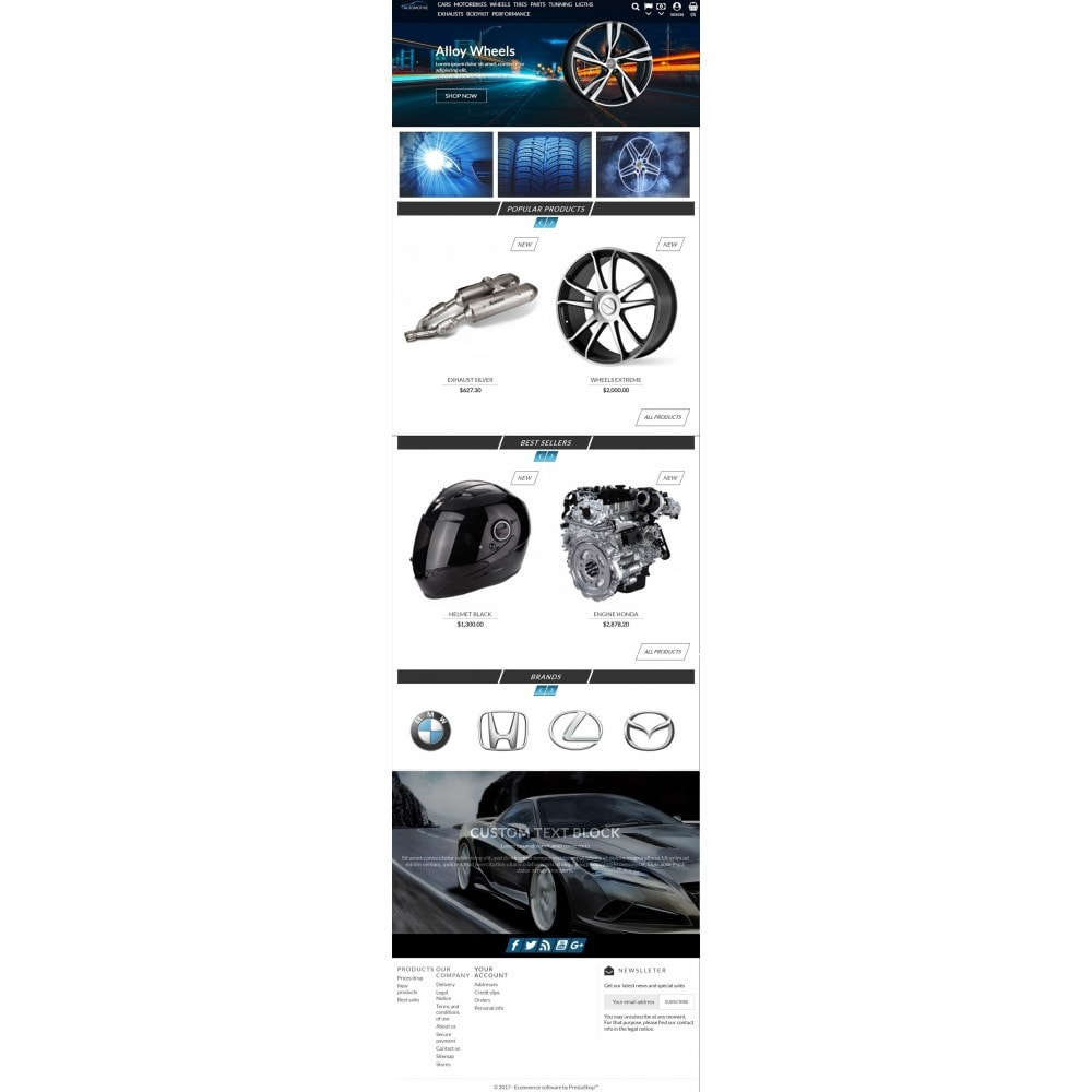 theme - Automotive & Cars - Automotive Store - 5