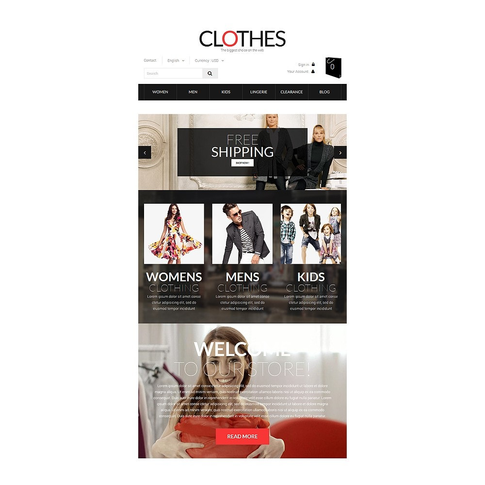 theme - Fashion & Shoes - Brand Clothes - 7
