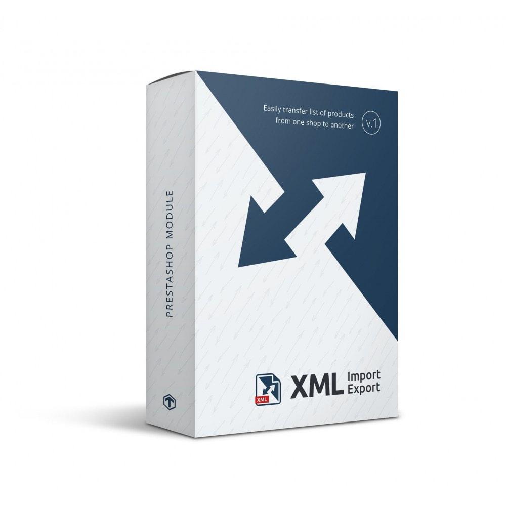 module - Импорт и Экспорт данных - XML Import/Export: 1.6-1.7 to 1.6-1.7 - 1