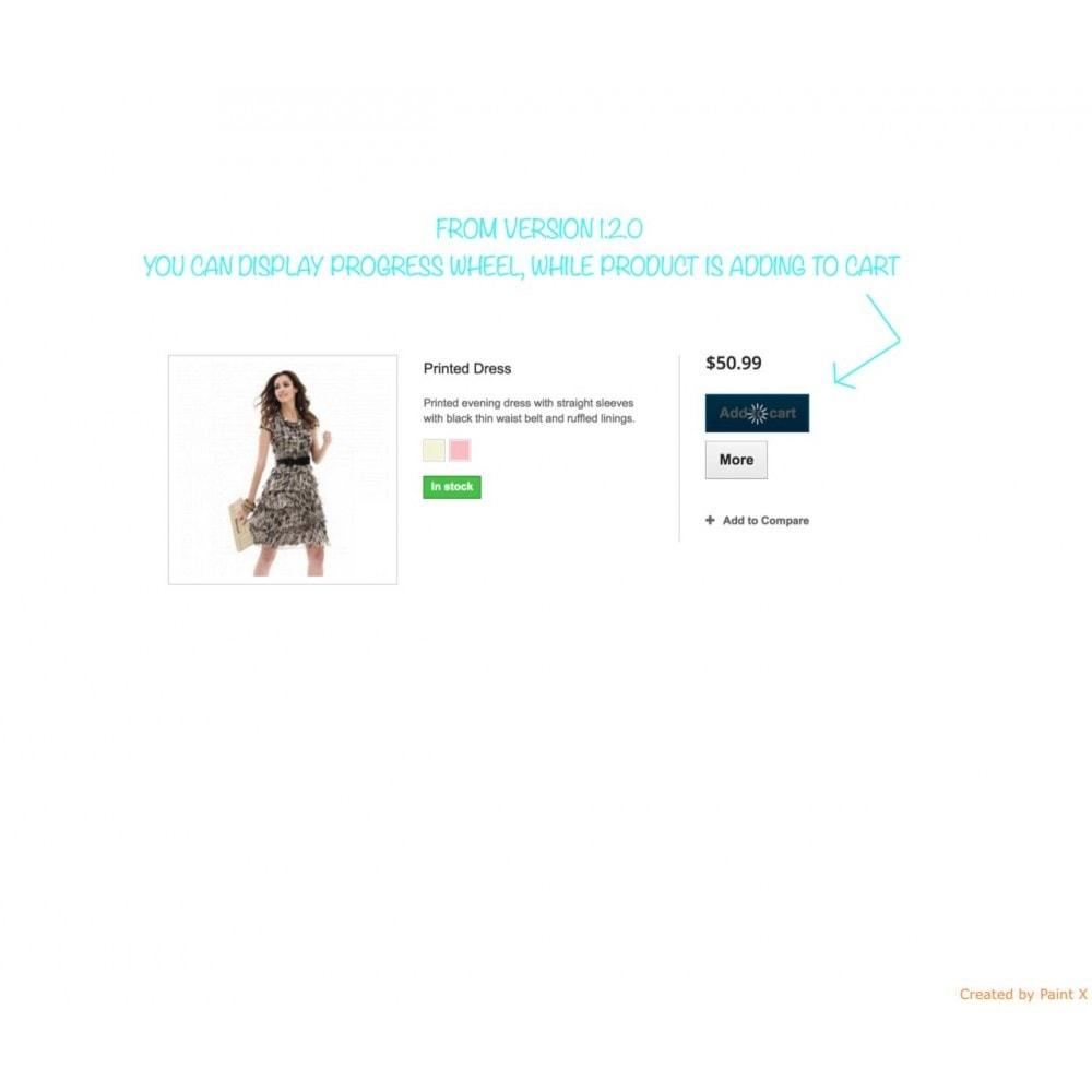 module - Anmeldung und Bestellvorgang - Effekt des Warenflugs, Pop-up zu und andere Animationen - 10