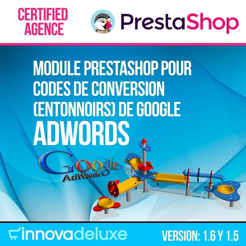 module - Référencement payant (SEA SEM) & Affiliation - Entonnoirs de conversion de Google Adwords - 1