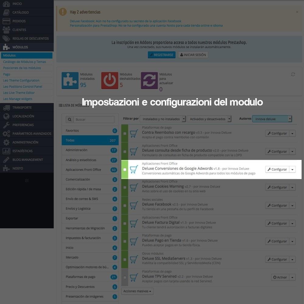 module - Indicizzazione a pagamento (SEA SEM) & Affiliazione - Trucchi di conversione per Google Adwords - 2