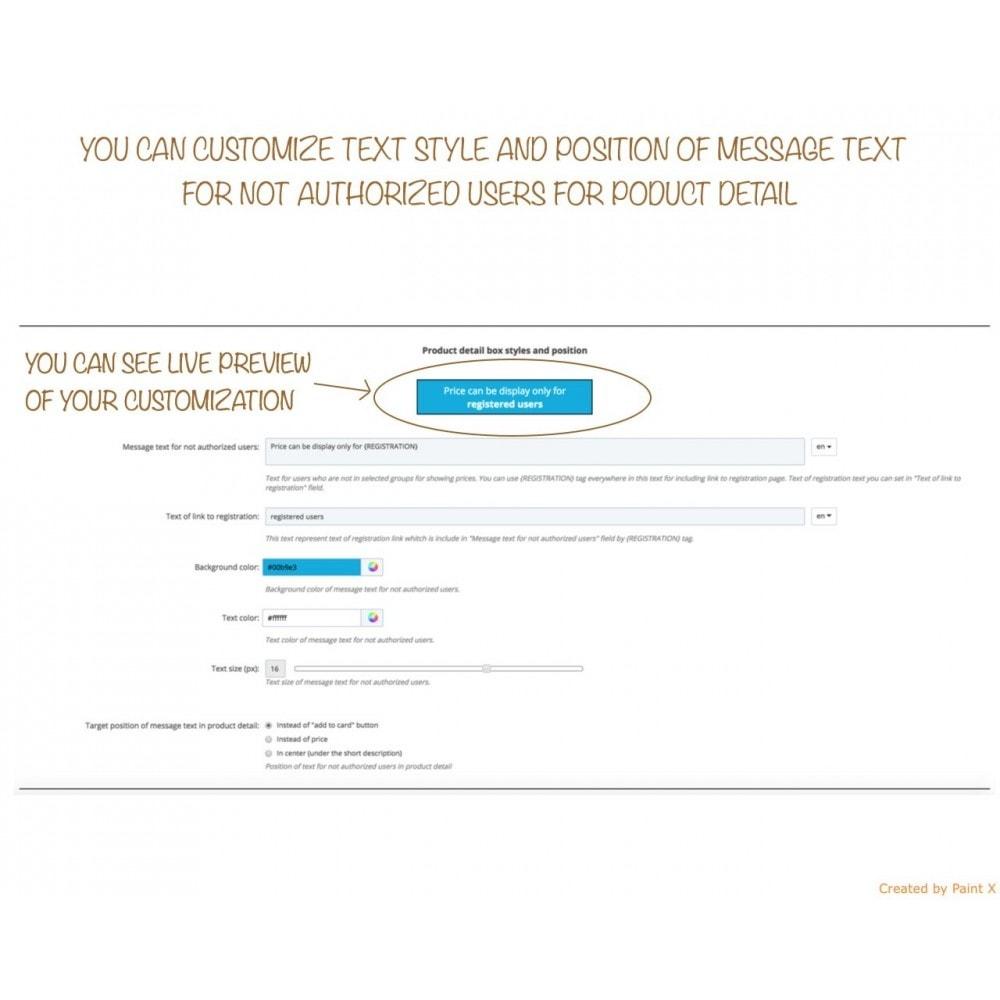 module - Kundenverwaltung - B2B verstecken der Preise für unautorisierte Kunden - 6