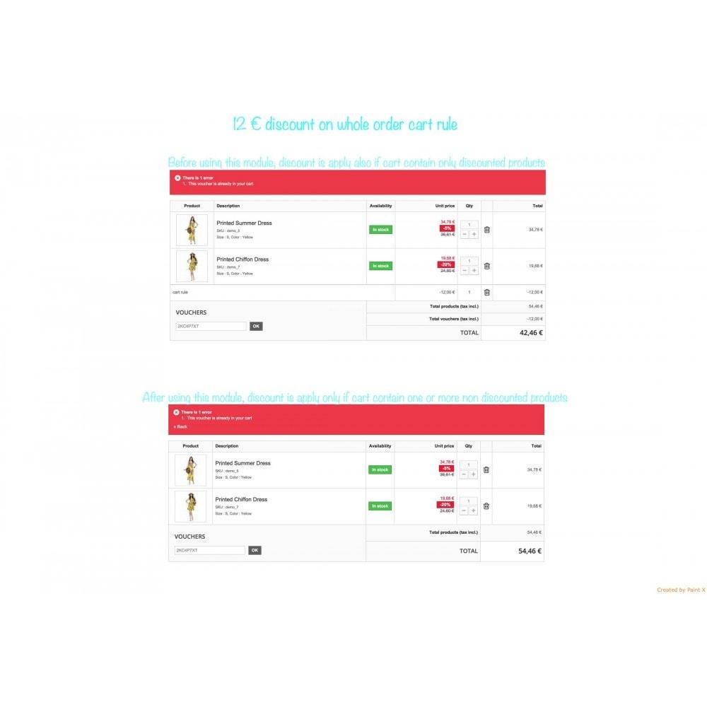 module - Promotion & Geschenke - Non-Kumulierte Warenkorbrabatte mit anderen Rabatten - 4
