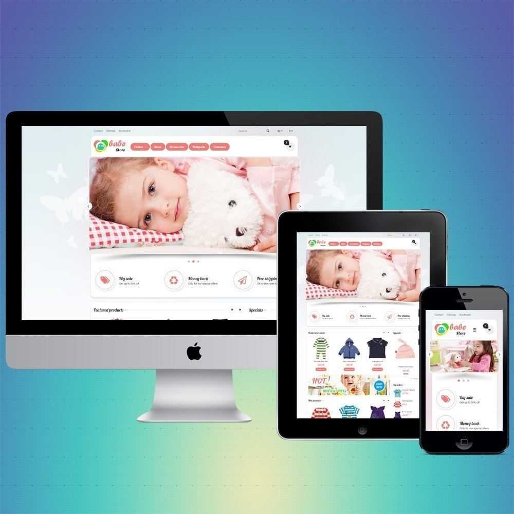 theme - Kinderen & Speelgoed - VP_Babe Store - 1