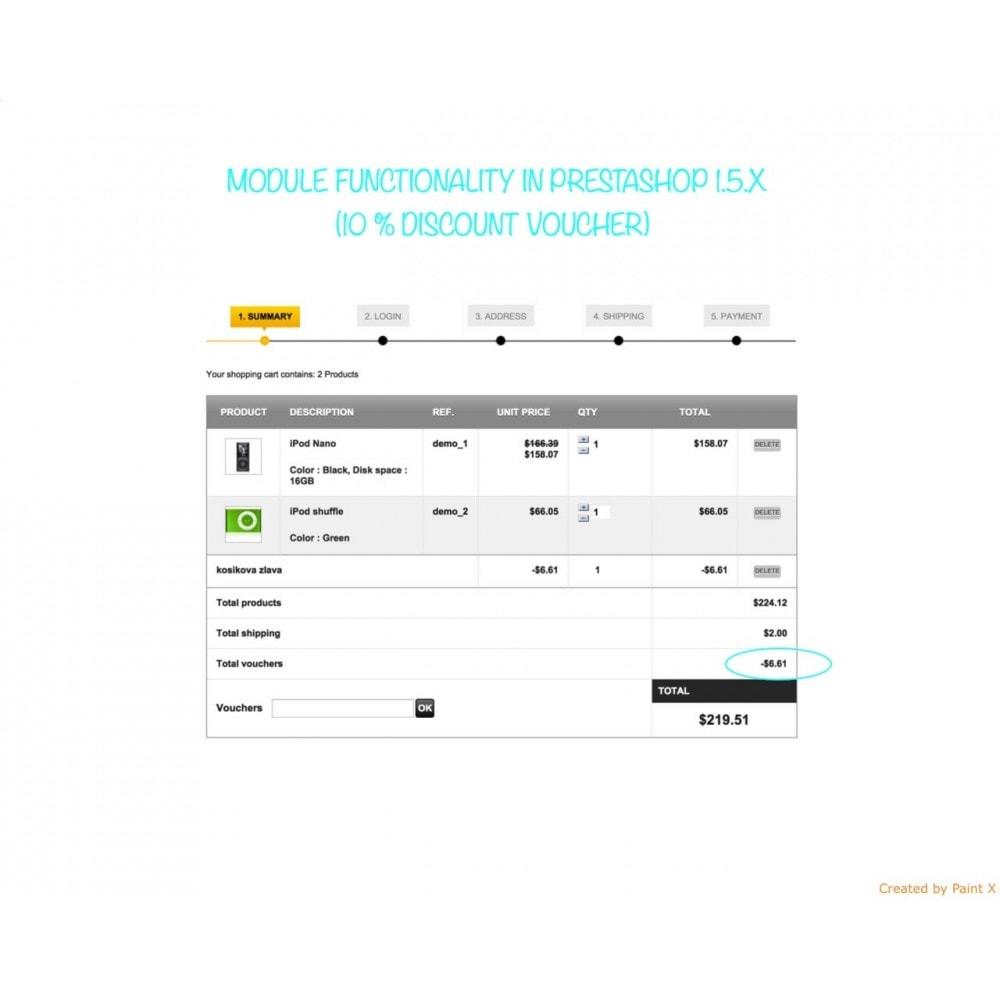 module - Promozioni & Regali - Sconti nel carrello non cumulabili con altre promozioni - 6