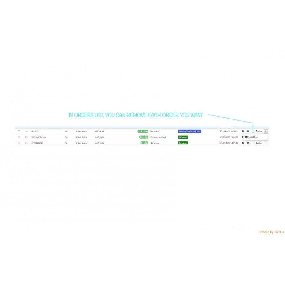 module - Gestione Ordini - Gestione ordini – modifica degli ordini esistenti - 8
