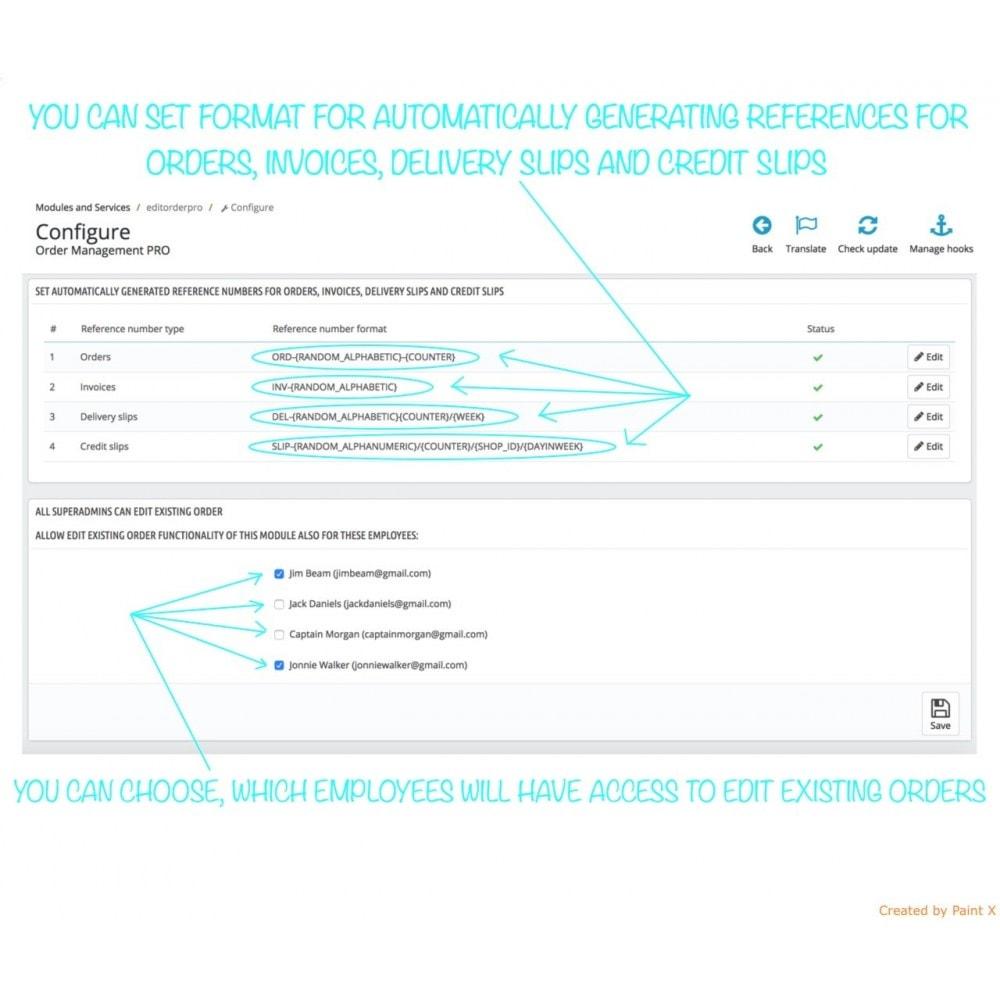 module - Gestione Ordini - Gestione avanzata degli ordini e numeri dei documenti - 7