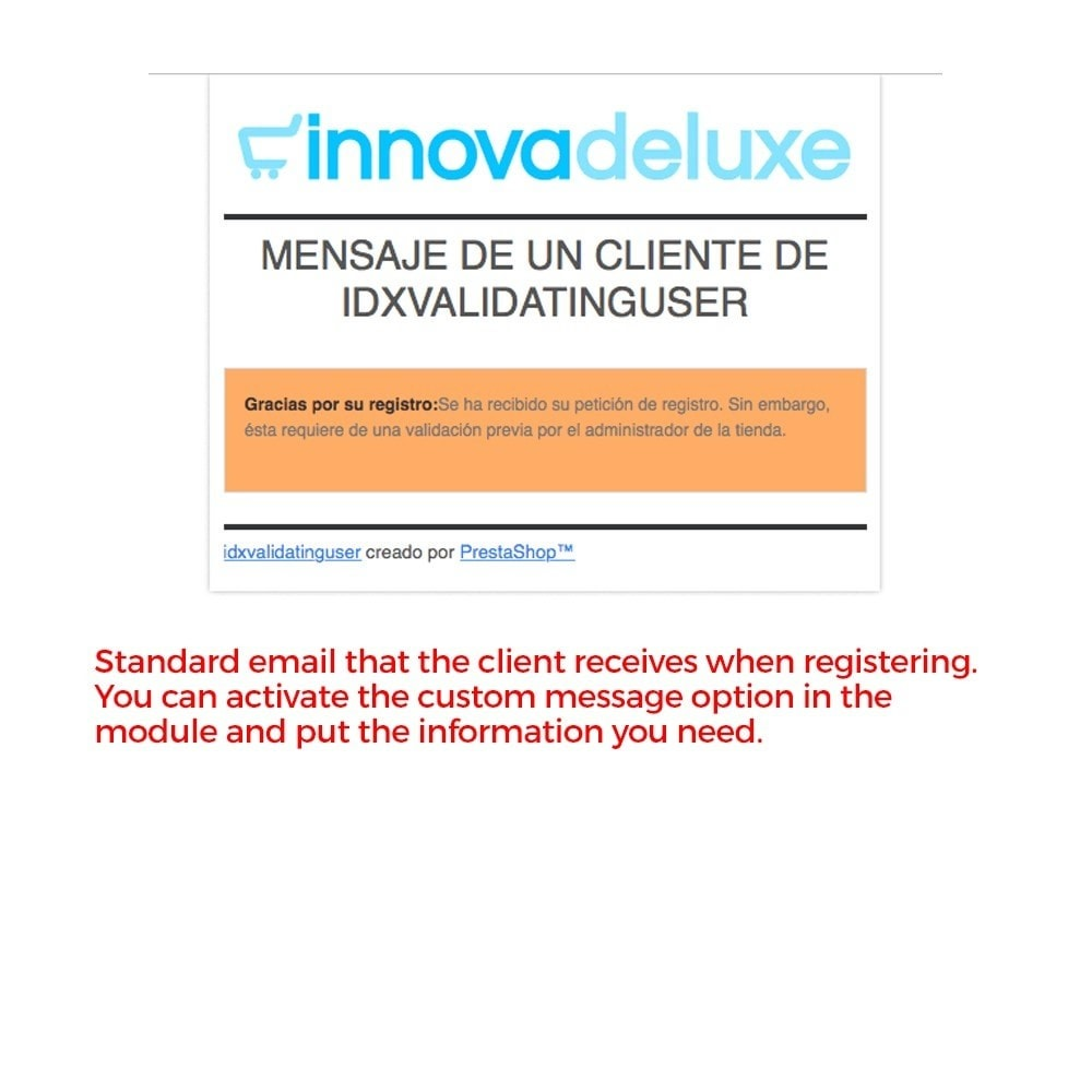module - B2B - Customers registration validated by the administrator - 17