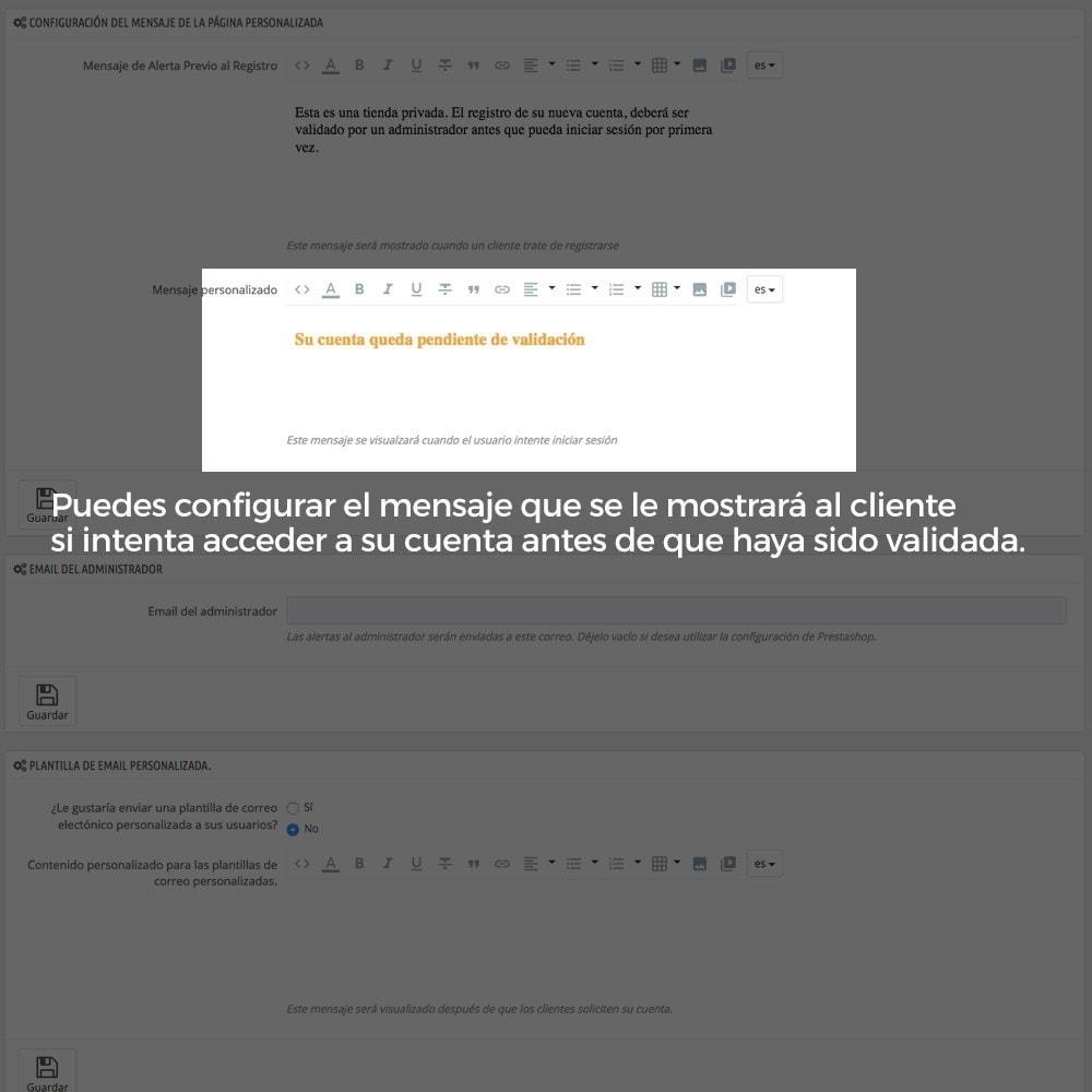 module - B2B - Registro de clientes validado por el administrador - 12