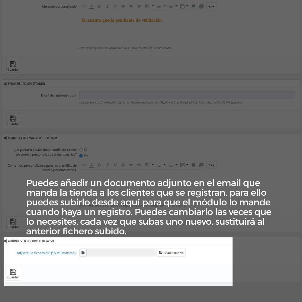 module - B2B - Registro de clientes validado por el administrador - 16