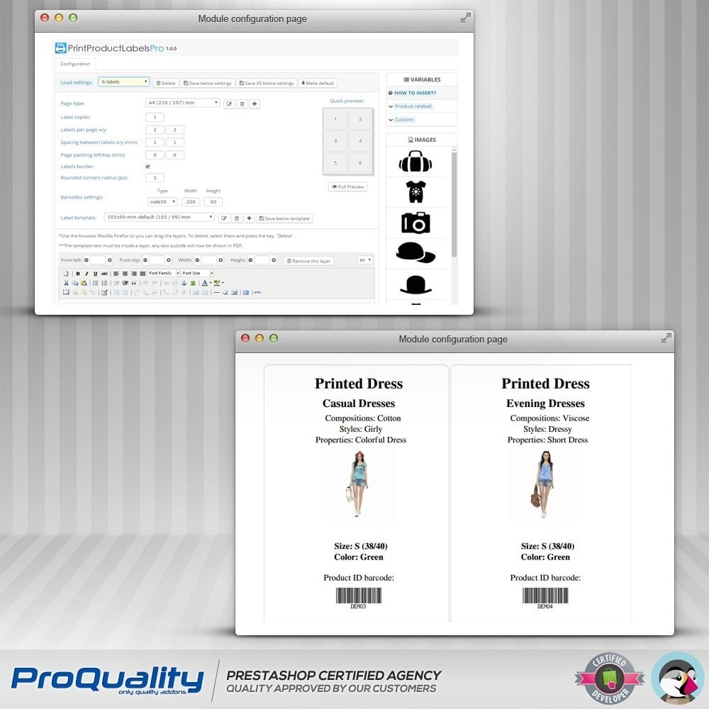 module - Preparation & Shipping - Print Product Labels Pro - 6