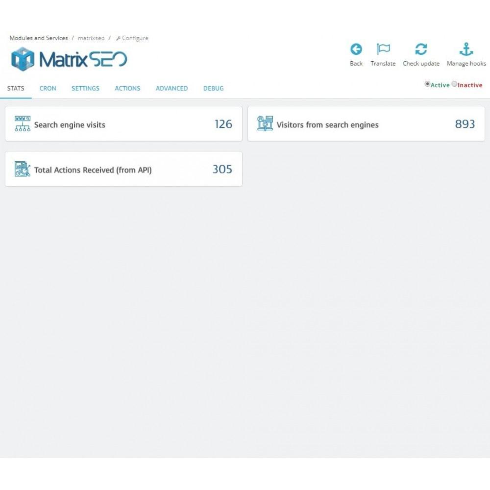 module - SEO (Pozycjonowanie naturalne) - Matrix SEO - 2