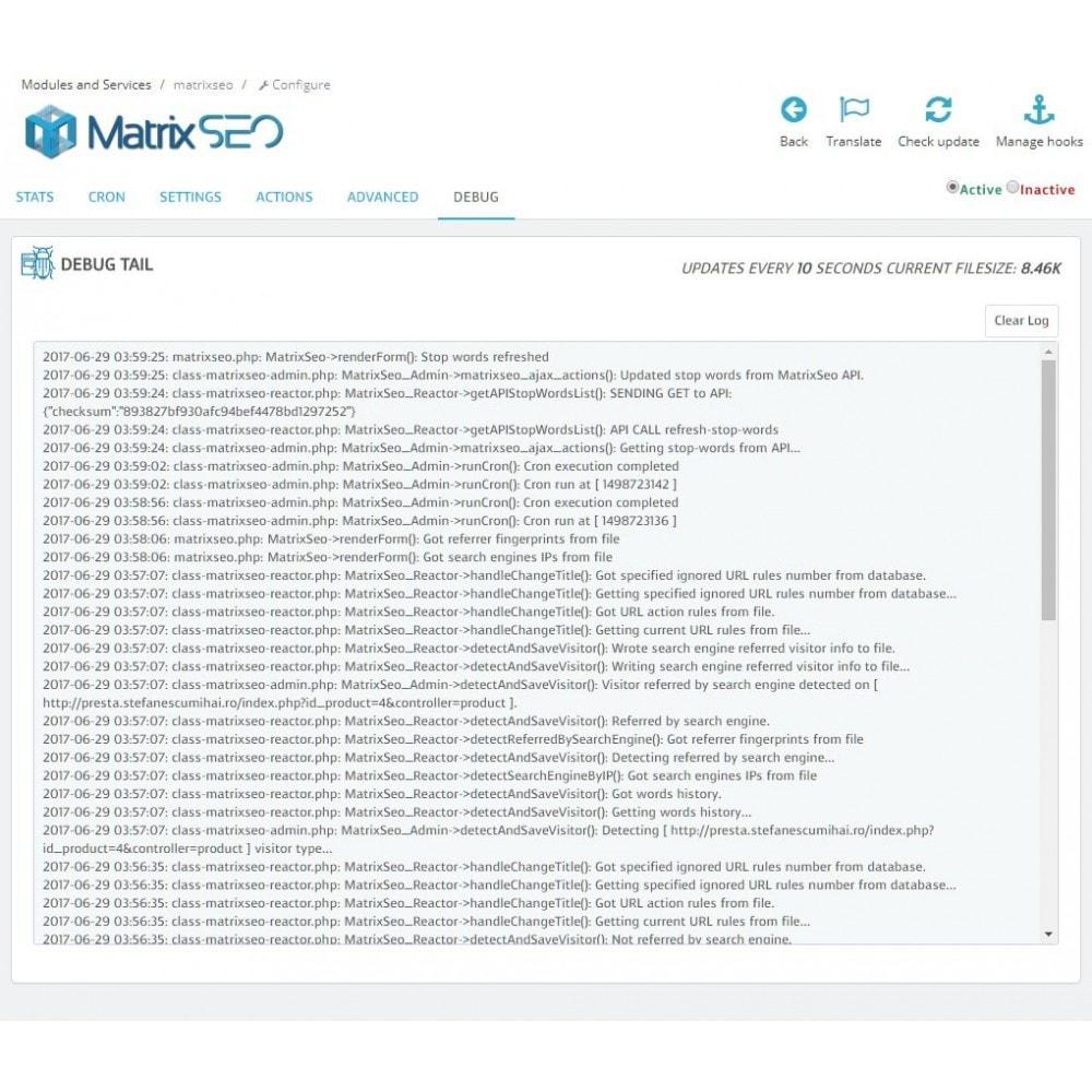 module - SEO (Pozycjonowanie naturalne) - Matrix SEO - 6
