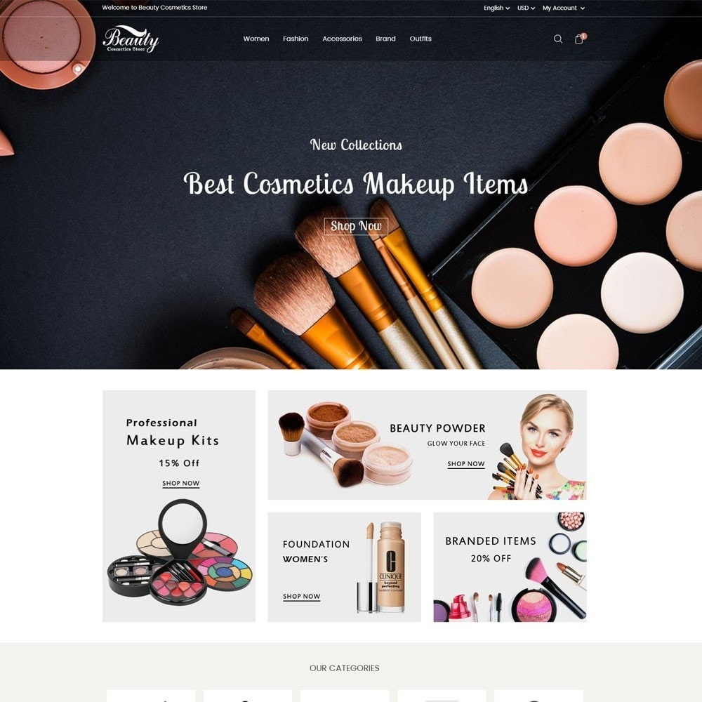 theme - Salute & Bellezza - Beauty Cosmetics Store - 2
