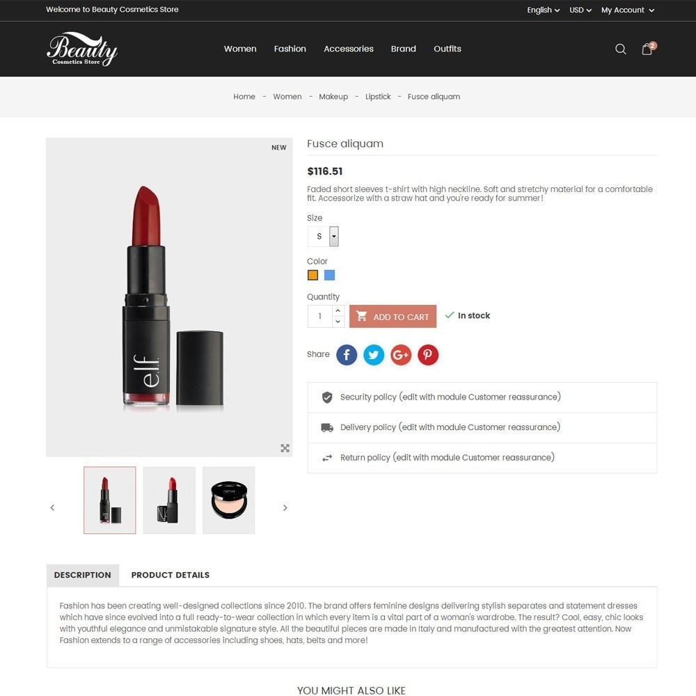 theme - Salute & Bellezza - Beauty Cosmetics Store - 7